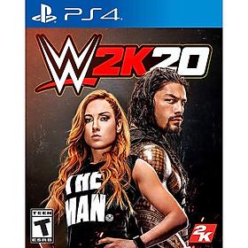 Đĩa Game PS4 WWE 2k20 2020 Hệ US - Hàng Nhập Khẩu