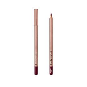 (BẢN MỚI) Chì Kẻ Viền Môi Vacosi Lipliner Pencil No.10 Crush Plum: Hồng mận