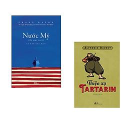 Combo 2 cuốn sách: Nước Mỹ (Kẻ Mất Tích) + Thiện xạ Tartarin