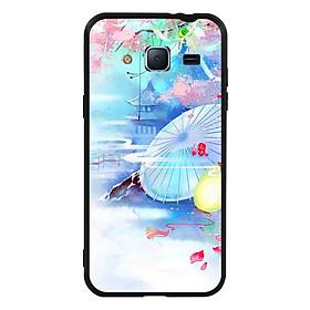 Hình đại diện sản phẩm Ốp lưng viền TPU cho điện thoại Samsung Galaxy J3 2016 - Diên Hi Công Lược Mẫu 7