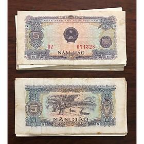 Tờ 5 hào Việt Nam 1976, tiền cổ nhỏ nhất đầu tiên sau giải phóng