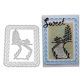 New Landscape Cut Die Metal Stencil Template Mould for DIY Scrapbook Embossing Album Paper Card Craft
