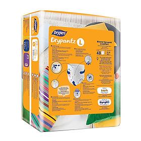 Tã Quần Drypers Drypantz Cực đại L48 (48 Miếng)-2