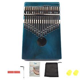 Đàn Kalimba 17 phím KA03 gỗ Mahogany - Full phụ kiện
