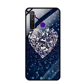 Ốp Lưng Kính Cường Lực cho Điện thoại Realme 5 Pro - 0420 HEART11 - Hàng Chính Hãng