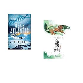 Combo 2 cuốn sách: Gene Atlantis + Thiên môn chi hùng