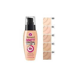 Kem Nền Kiềm Dầu Dermacol Matt Control Make-up 30ml-1