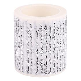 Băng Dính Washi Tape Trang Trí Sổ Tay