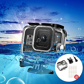For Gopro Hero 8 Waterproof Case Anti-fog Film Overall Protection Camera Screen Protection Device