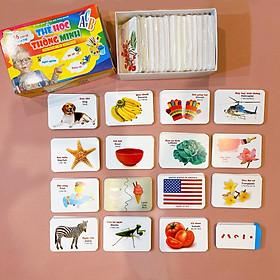 Bộ Thẻ học Thông minh - 416 Thẻ Flashcards Tiếng Anh - 16 Chủ đề mới nhất