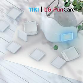 Tấm lọc HEPA - Tấm lọc thay thế cho khẩu trang LG Puricare Mask PFDAHC02 Hàng chính hãng