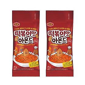 Hạnh nhân Hàn Quốc chính thống Murgerbon vị bánh gạo chiên cay (25g)X2