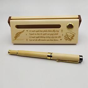 Quà tặng bút gỗ Tặng Thầy Cô (Hộp đựng sang trọng)