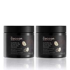 Combo 2 Tẩy Da Chết Cà phê Đăk Lăk Cocoon