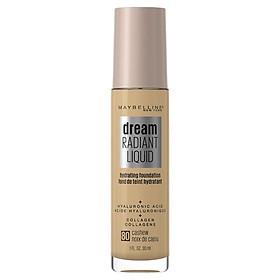 Maybelline Dream Radiant Liquid Foundation 80 Cashew