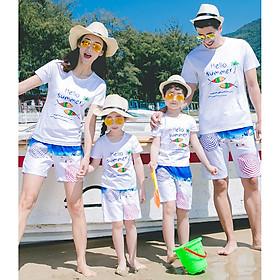 Áo Thun Gia Đình Đi Biển Mẫu Hot MS004