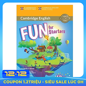 Fun for Starters SB w Home Fun & Online Activities