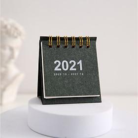 Lịch để bàn mini thiết kế dễ thương nhiều màu tùy chọn TTC 2021