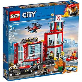 Bộ lắp ráp Trạm Cứu Hỏa - LEGO City 60215