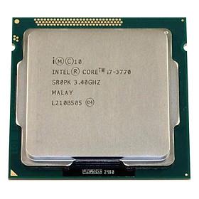 Bộ Vi Xử Lý CPU Intel Core i7-3770 Processor (3.40Ghz, 8M) - Hàng Nhập Khẩu
