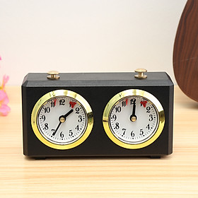 Master Tournament Analogue Chess Clock Timer Set Count Up Count Down Timer