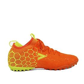 Giày sân cỏ nhân tạo, giày đá bóng Mitre 181045 mẫu mới giảm chấn hiệu quả, giúp kiểm soát bóng tốt hàng chính hãng dành cho nam màu cam