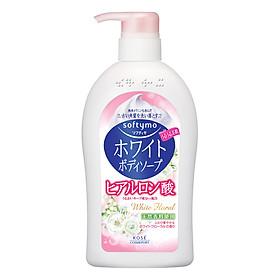 Sữa Tắm Sáng Da Kosé Cosmeport Softymo White Body Soap - White Floral (600ml)