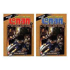 Combo Thám Tử Lừng Danh Conan Hoạt Hình Màu: Nốt Nhạc Kinh Hoàng ( Bộ 2 Tập ) - Tặng Kèm Móc Khoá