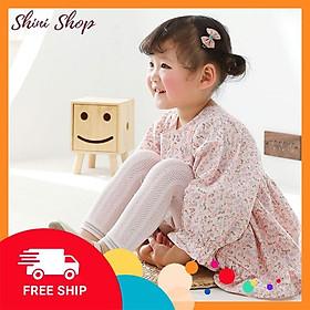 Quần legging lưới siêu mỏng thoáng khí cho bé gái từ 6 tháng Mùa hè 2021 ShiniShop