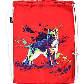 Túi Dây Rút XOX Backpack German Shepherd Red