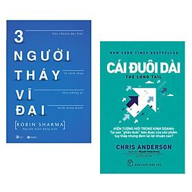 Combo 2 Cuốn Sách Tư Duy - Kỹ Năng Sống Bán Chạy : Ba Người Thầy Vĩ Đại + Cái Đuôi Dài (Tặng kèm Bookmark Happy Life / Cuốn Sách Thay Đổi Tư Duy Cho Các Bạn Trẻ)