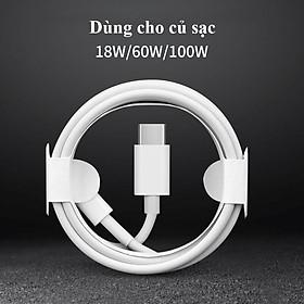Bộ sạc Zin Like New USB-C Power Adapter 18W Cho IPHONE 11,11 PROMAX, XS MAX ,X, XR