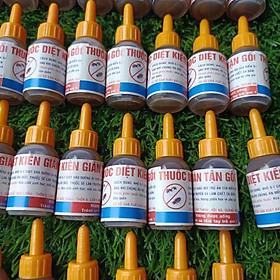( không sđt ) 50 lọ thuốc diệt kiến gián sinh học