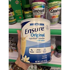 Sữa bột Ensure Original Nutrition Powder (397g) mẫu mới - Thùng 06 hộp