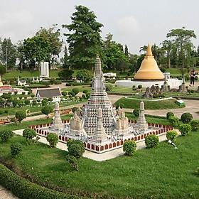 Hình đại diện sản phẩm Vé tham quan - Mini Siam Pattaya - Trẻ em cao 90-120cm