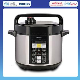 Nồi Áp Suất Điện Tử Philips HD2136 (5L) - Hàng Chính Hãng
