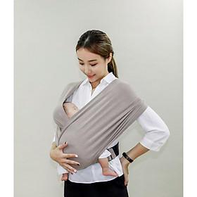 [CHÍNH HÃNG] Địu vải EmBé Sling, dành cho bé sơ sinh từ 0 -24 tháng tuổi, thoáng khí, thời trang, nhỏ gọn