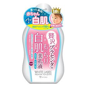 Sữa Dưỡng Da Cấp Tốc Từ Nhau Thai Dành Cho Da Mặt Và Body - White Label Premium Placenta Milk 120 ml