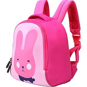 UEK kindergarten bag female children's school bag female baby small class big class cute rabbit pink backpack backpack