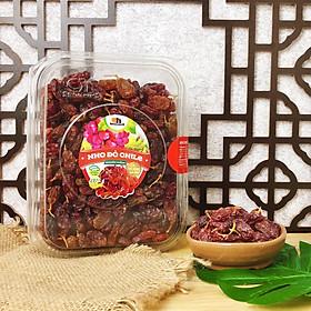Nho Khô Đỏ Nguyên Cuống Smile Nuts (265g - 500g) | Nho khô nhập khẩu từ Chile, 100% không đường và chất bảo quản | Chilean Red Raisins (265g - 500g)
