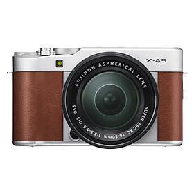 Máy Ảnh Quay Video Chất Lượng 4K, Kết Nối Bluetooth + Wifi - Fuji X-A5 XC16-50mm II Star Brown - Nâu