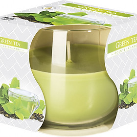 Ly nến thơm Bispol BIS1832 Green Tea 100g (Hương trà xanh)