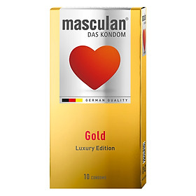 Bao Cao Su Masculan Das Kondom Gold (10 Cái/ Hộp)