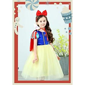 Váy đầm cho bé hoá thân công chúa Bạch Tuyết
