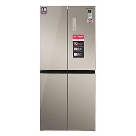 Tủ lạnh Sharp Inverter 401 lít SJ-FXP480VG-CH Mới 2020 - Hàng chính hãng (chỉ giao HCM)