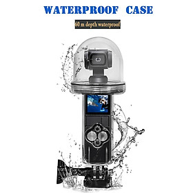 60M Waterproof Housing Case for DJI OSMO Pocket Case Diving Protective Shell