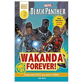DK Readers Level 2: Marvel Black Panther Wakanda Forever!
