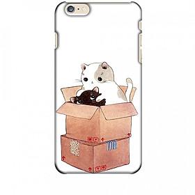 Ốp lưng dành cho điện thoại IPHONE 6 PLUS Mèo Con Dễ Thương