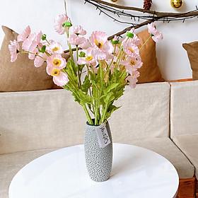 Chùm Hoa Giả Hoa Cánh Bướm 4 Bông 50 cm