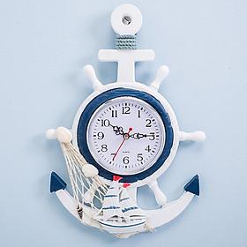 Đồng hồ treo tường - Đồng hồ trang trí - Đồng hồ mỏ neo - Đồng hồ